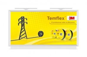 Sobre el proyecto Desarrollé una campaña gráfica para las cintas adhesivas Temflex de 3M para Outdoor, utilizando las vallas como principal soporte publicitario