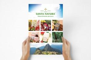 Sobre el proyecto Diseño de tríptico para la Expo Alimentaria donde se muestran los principales productos de la empresa así como los servicios alternativos que también ofrece.